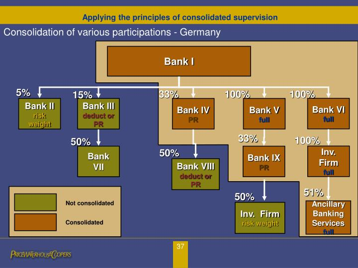 Consolidation of various participations - Germany