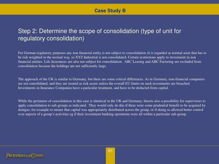Case Study B