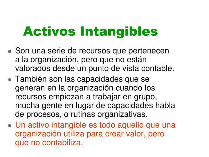 Activos Intangibles