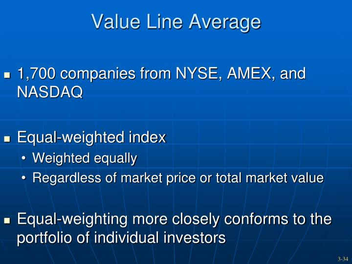 Value Line Average