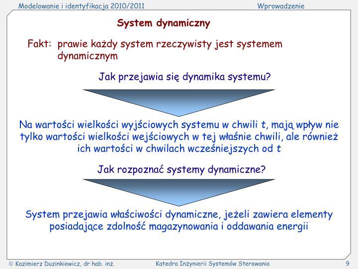 System dynamiczny