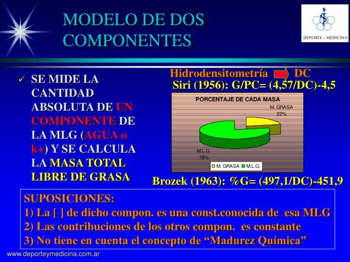 MODELO DE DOS