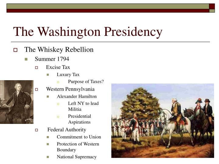 The Washington Presidency