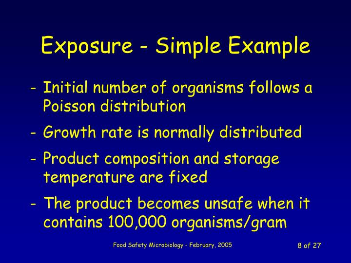 Exposure - Simple Example