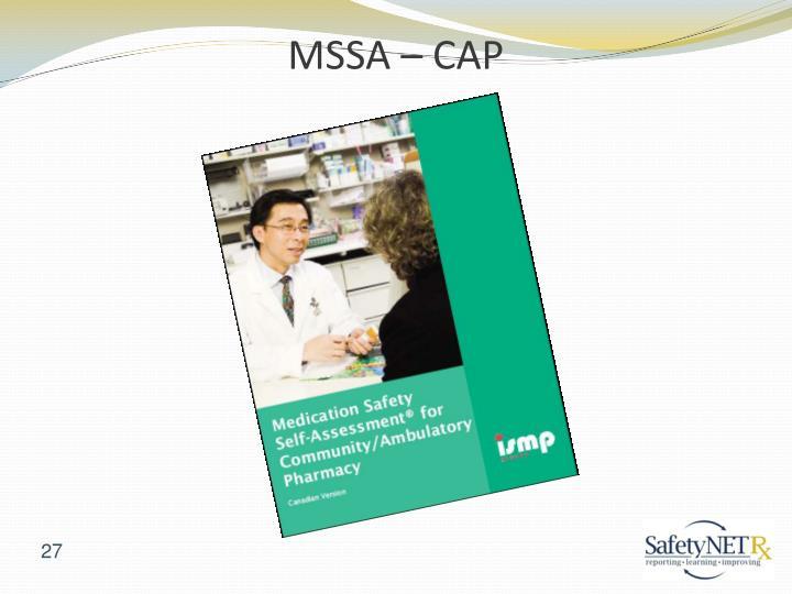 MSSA – CAP