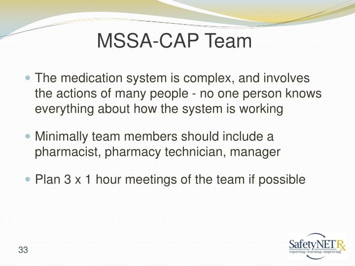MSSA-CAP Team