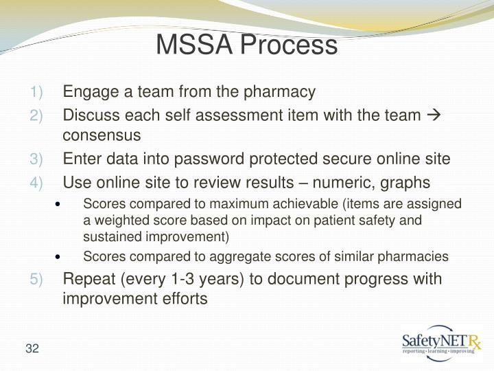 MSSA Process