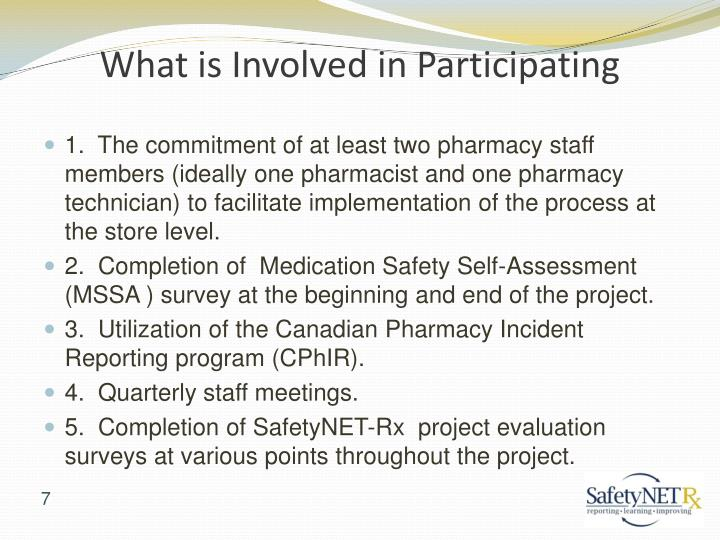 What is Involved in Participating