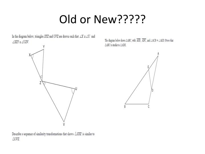 Old or New?????