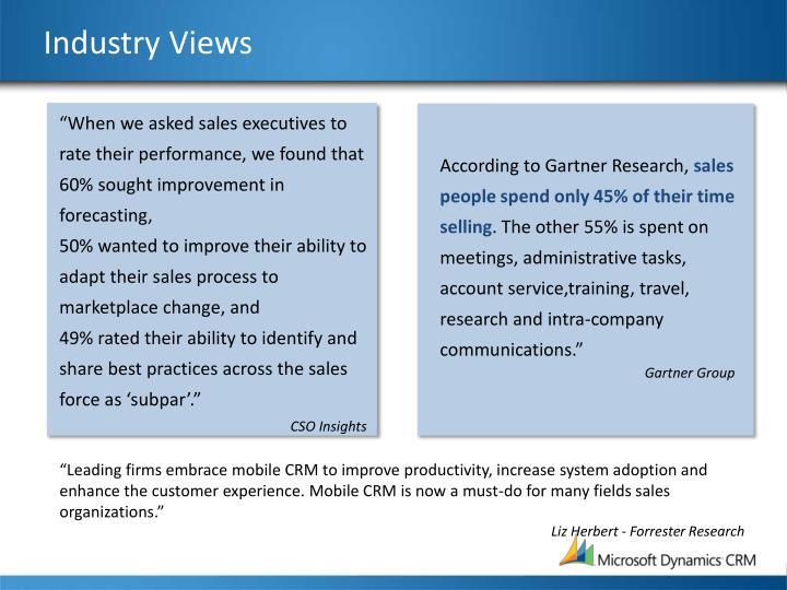 Industry Views