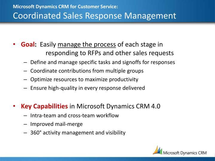 Microsoft Dynamics CRM for Customer Service: