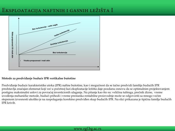 Metode za predviđanje buduće IPR vertikalne bušotine