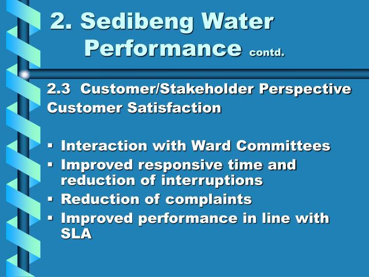 2. Sedibeng Water