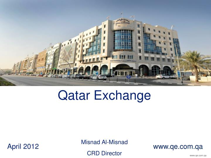 Qatar exchange misnad al misnad crd director