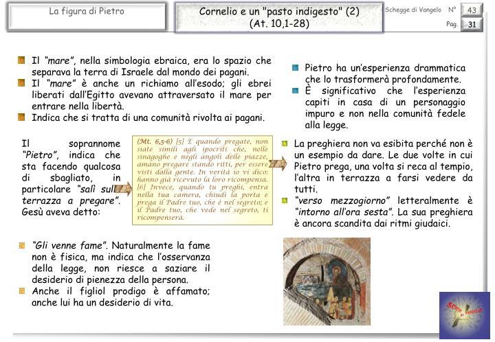 """Cornelio e un """"pasto indigesto"""" (2)"""
