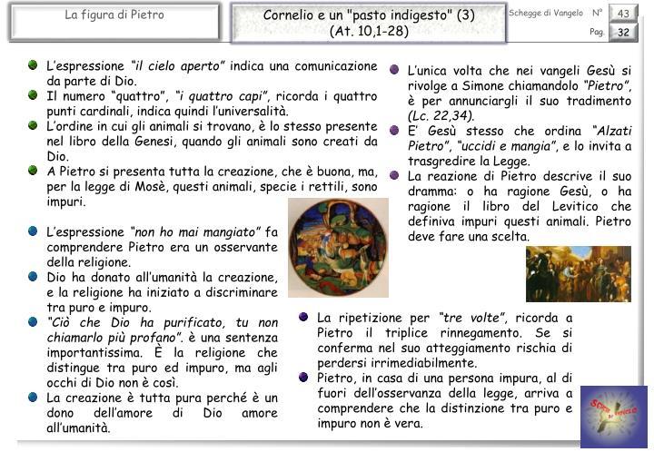 """Cornelio e un """"pasto indigesto"""" (3)"""
