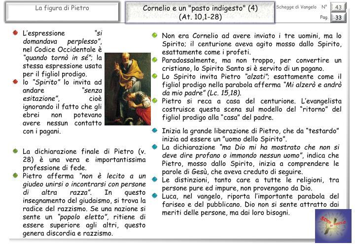 """Cornelio e un """"pasto indigesto"""" (4)"""