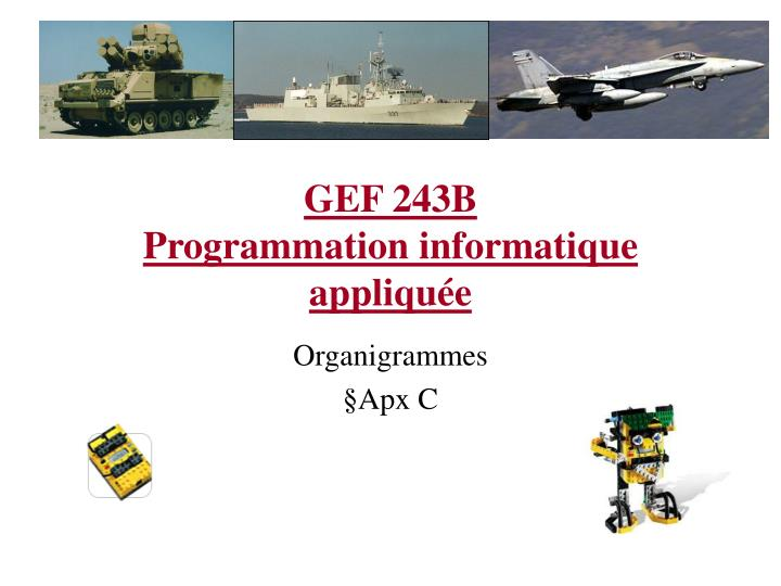 Gef 243b programmation informatique appliqu e