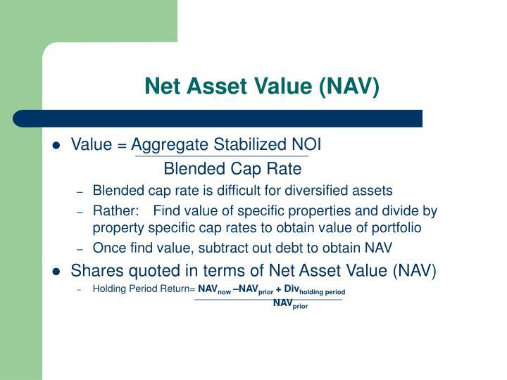 Net Asset Value (NAV)