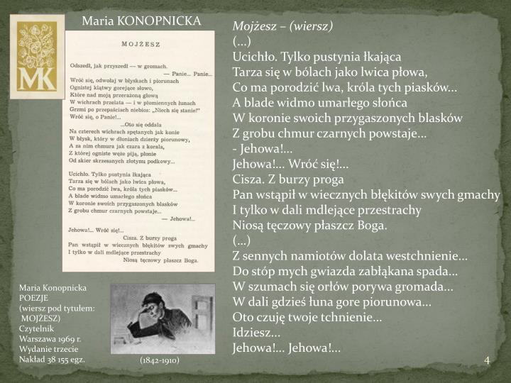 KONOPNICKA Maria