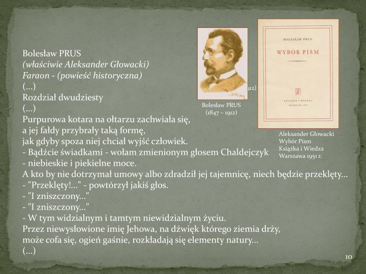 PRUS Bolesław