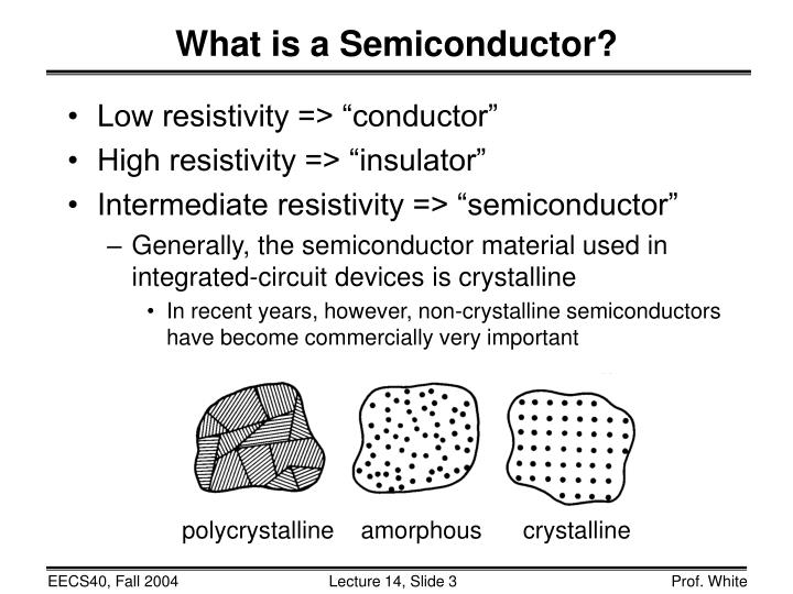 """Low resistivity => """"conductor"""""""