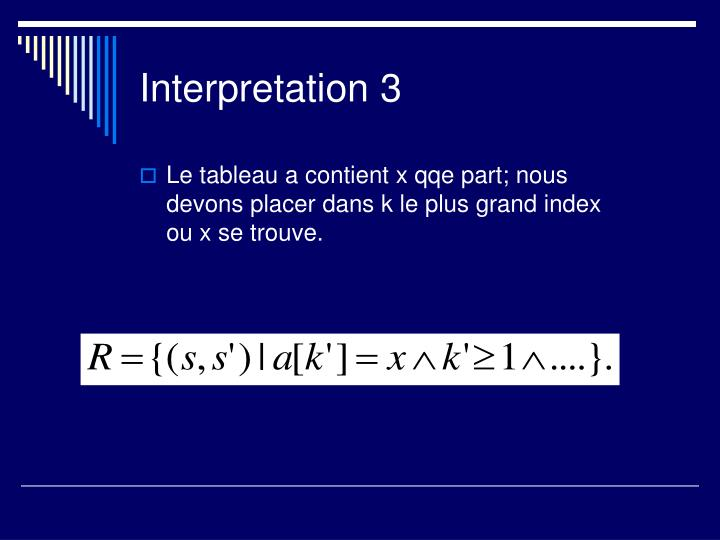 Interpretation 3