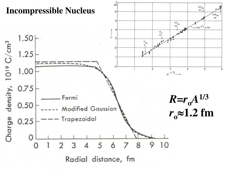 Incompressible Nucleus