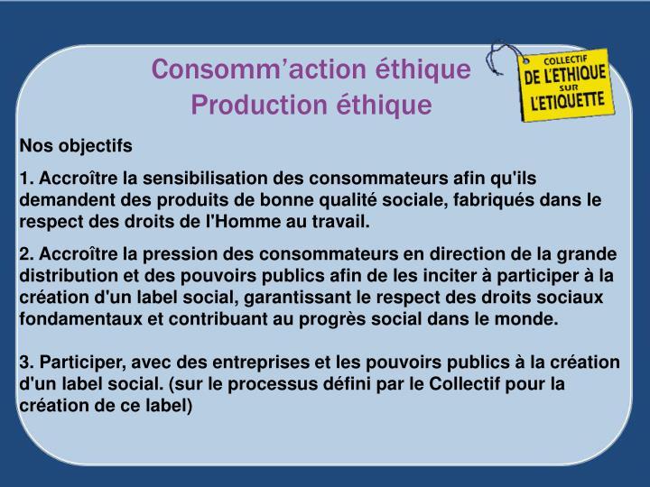 Consomm'action éthique
