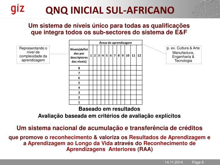 QNQ INICIAL SUL-AFRICANO