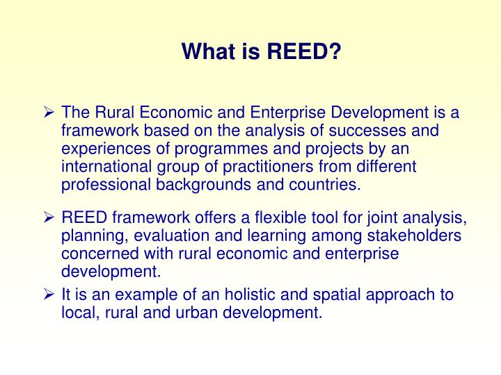 What is REED?