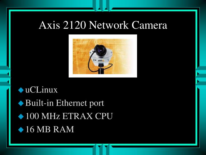 Axis 2120 Network Camera
