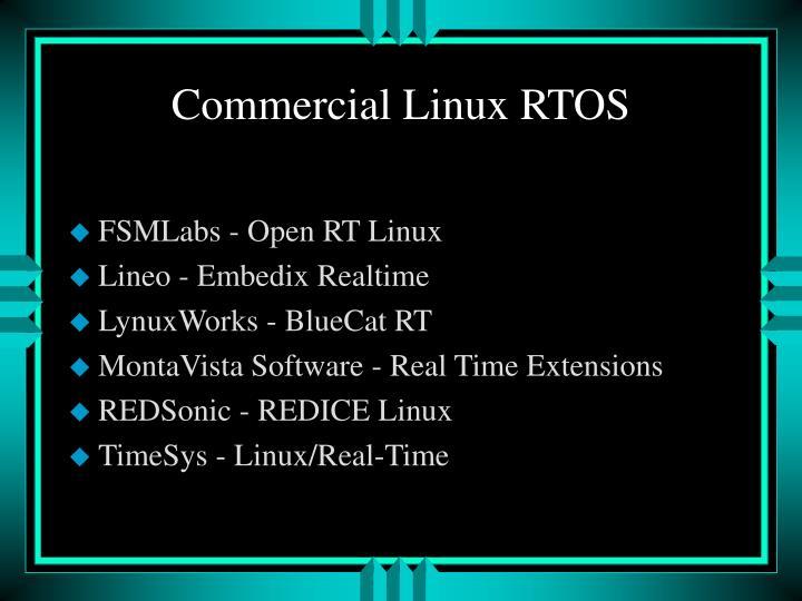 FSMLabs - Open RT Linux