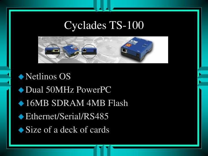 Cyclades TS-100