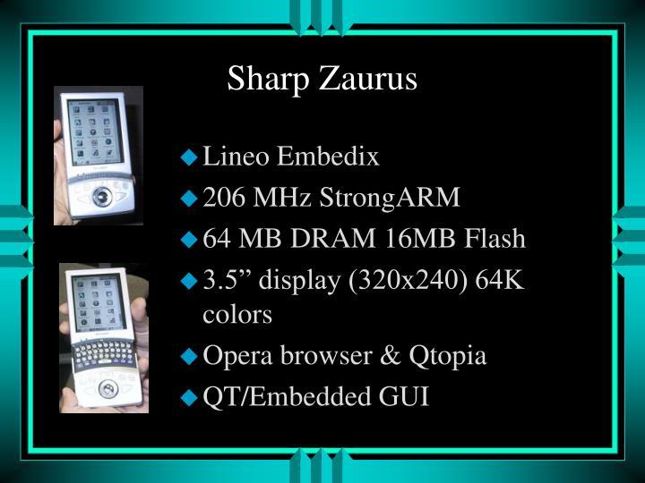 Sharp Zaurus