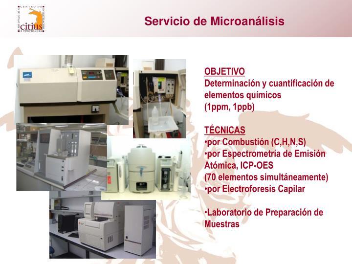 Servicio de Microanálisis