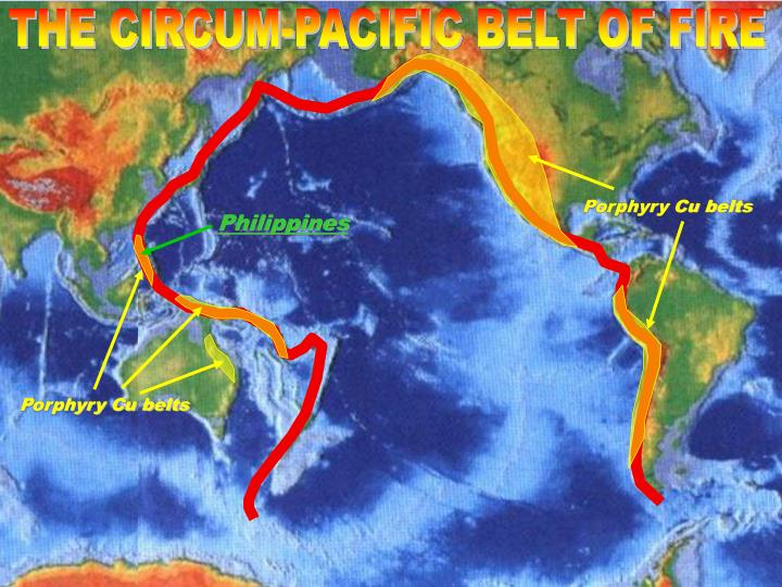 THE CIRCUM-PACIFIC BELT OF FIRE