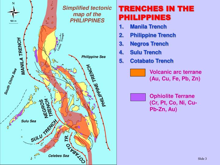 TRENCHES IN THE PHILIPPINES