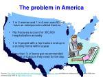 the problem in america