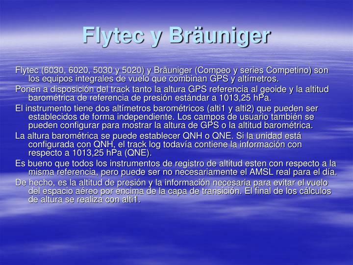 Flytec y Bräuniger