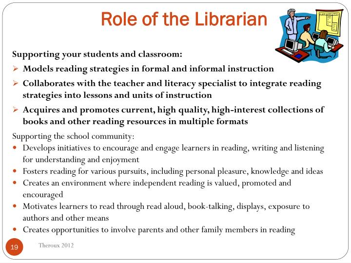 Role of the Librarian