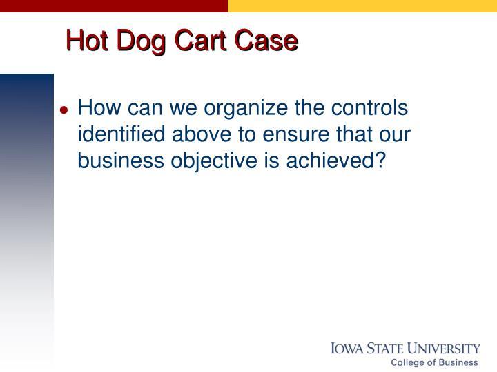 Hot Dog Cart Case