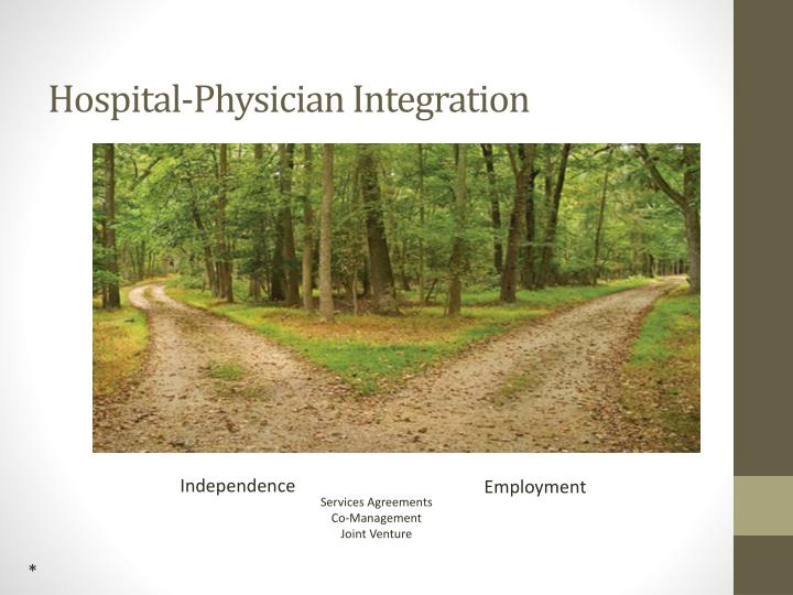Hospital-Physician Integration