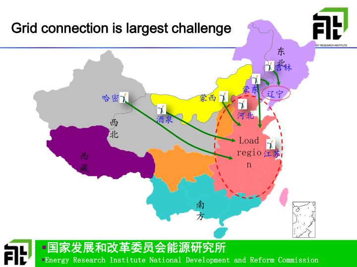Grid connection is largest challenge
