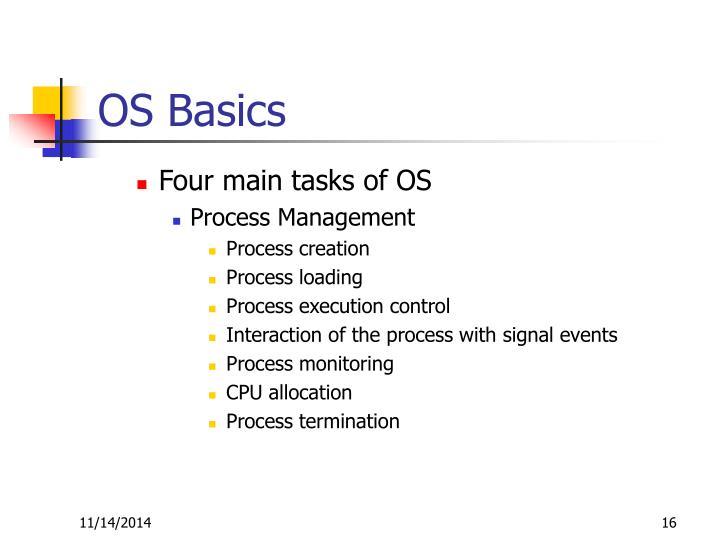 OS Basics