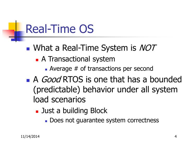 Real-Time OS