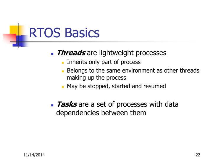 RTOS Basics