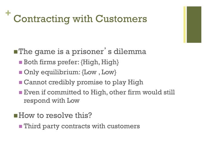 Contracting with Customers