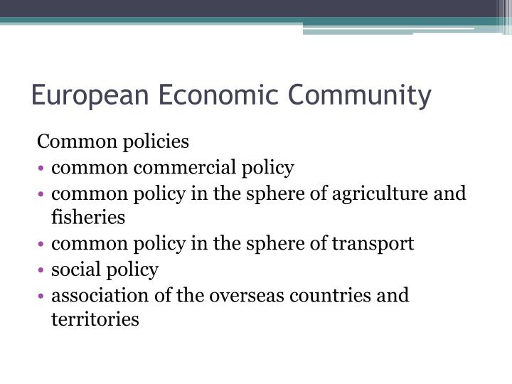European Economic Community