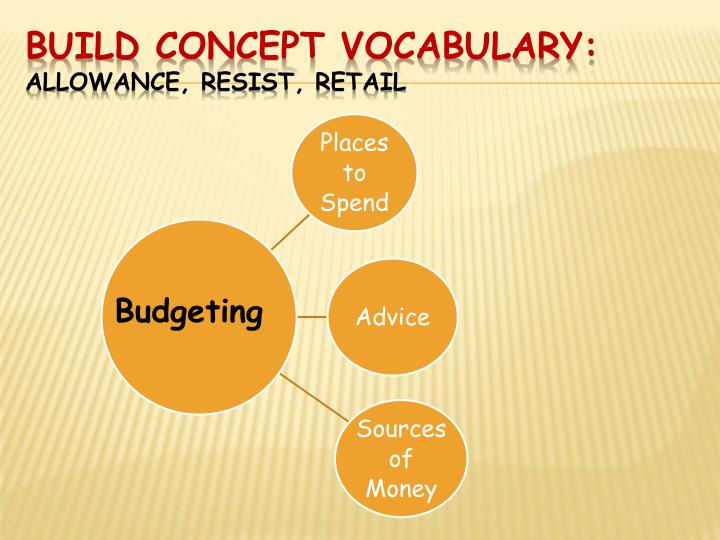 Build Concept Vocabulary: